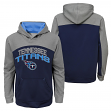 """Tennessee Titans Youth NFL """"Arc"""" Pullover Hooded Sweatshirt"""