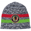 "Chicago Blackhawks Mitchell & Ness NHL ""Static"" Cuffless Tri-Blend Knit Hat"