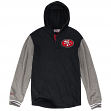 "San Francisco 49ers Mitchell & Ness NFL ""Mid-Season"" L/S Hooded Men's Shirt"