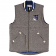 "New York Rangers Mitchell & Ness NHL ""Victory"" Throwback Vest Jacket"