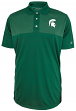 """Michigan State Spartans NCAA Champion """"Playbook"""" Men's Performance Polo Shirt"""