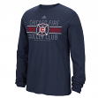 "Chicago Fire Adidas MLS ""Overlaid"" Men's Long Sleeve T-Shirt"