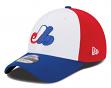 Montreal Expos New Era MLB 39THIRTY Cooperstown Team Classic Flex Fit Hat