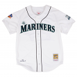 Ken Griffey Jr. Seattle Mariners Mitchell & Ness Authentic 1997 Button Up Jersey