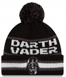 "Darth Vader Star Wars New Era ""Vintage Select"" Cuffed Knit Hat with Pom"