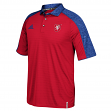 Team Czech Republic 2016 World Cup of Hockey Adidas Climalite Coaches Polo Shirt