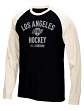 "Los Angeles Kings CCM NHL ""Historic"" Tri-Blend Men's Long Sleeve Crew Shirt"