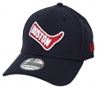"Boston Red Sox New Era MLB 39THIRTY Cooperstown ""Classic Custom"" Flex Fit Hat"