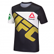 Anderson Silva Men's Reebok Combat UFC Black Replica Performance Jersey