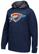 "Oklahoma City Thunder Adidas 2016 NBA ""Playbook"" Men's Hooded Sweatshirt"
