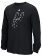 "San Antonio Spurs Adidas NBA ""Tech Quilt"" Premium Print L/S Men's T-Shirt"