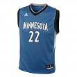 Andrew Wiggins Minnesota Timberwolves Adidas NBA Replica Youth Jersey