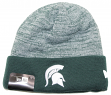 "Michigan State Spartans New Era NCAA ""Team Rapid"" Cuffed Knit Hat"