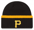 "Pittsburgh Pirates New Era MLB ""Ribbed Up Team"" Cuffed Knit Hat"