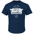 Dallas Cowboys Majestic NFL 2016 NFC East Division Champions Men's T-Shirt