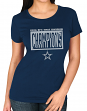Dallas Cowboys Majestic NFL Women's 2016 NFC East Division Champions S/S T-Shirt