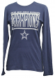 Dallas Cowboys Majestic NFL Women's 2016 NFC East Division Champions L/S T-Shirt