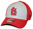 "St. Louis Cardinals New Era MLB 39THIRTY ""Heathered Gray Neo"" Flex Fit Hat"