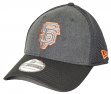 "San Francisco Giants New Era MLB 39THIRTY ""Heathered Black Neo"" Flex Fit Hat"