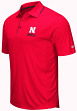 "Nebraska Cornhuskers NCAA ""Maestro"" Men's Performance Polo Shirt"