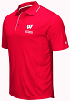 "Wisconsin Badgers NCAA ""Maestro"" Men's Performance Polo Shirt"