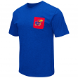 "Kansas Jayhawks NCAA ""Banya"" Men's Dual Blend S/S Pocket T-Shirt"