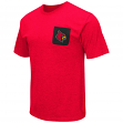 "Louisville Cardinals NCAA ""Banya"" Men's Dual Blend S/S Pocket T-Shirt"