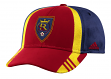 Real Salt Lake Adidas MLS 2017 Authentic Team Structured Adjustable Hat