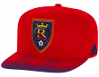 Real Salt Lake Adidas MLS Sublimated Dot Embroidered Snap Back Hat