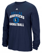"Dallas Mavericks Adidas NBA ""Rep Big"" Men's Long Sleeve T-Shirt"
