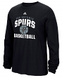"San Antonio Spurs Adidas NBA ""Rep Big"" Men's Long Sleeve T-Shirt"