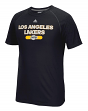 "Los Angeles Lakers Adidas NBA ""Reflective Authentic"" Men's Climalite S/S T-Shirt"