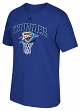 "Oklahoma City Thunder Adidas NBA ""Bank Shot"" Men's Short Sleeve T-Shirt"