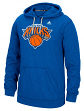 "New York Knicks Adidas NBA ""Dotted Fade"" Men's Climawarm Hooded Sweatshirt"