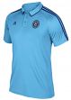 New York City FC Adidas MLS Men's On-Field Coaches Climalite Polo Shirt