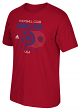 "FC Dallas Adidas MLS ""Soccer World"" Tri-Blend Men's Short Sleeve T-Shirt"