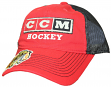 Chicago Blackhawks CCM Reebok NHL Two-Tone Slouch Adjustable Hat