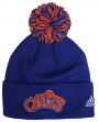 Cleveland Cavaliers Adidas NBA Hardwood Classics Cuffed Knit Hat with Pom