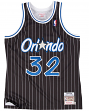 Shaquille O'Neal Orlando Magic Mitchell & Ness Authentic 1995 Alternate Jersey