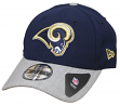 "Los Angeles Rams New Era 9Forty NFL ""The League Heather 2"" Adjustable Hat"