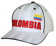 "Team Colombia World Cup Soccer Federation ""Printed"" Structured Adjustable Hat"
