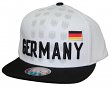 """Team Germany World Cup Soccer Federation """"Jersey"""" Flat Bill Snap Back Hat"""