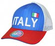 """Team Italy World Cup Soccer Federation """"Jersey Hook"""" Structured Mesh Back Hat"""