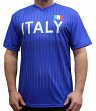 """Team Italy World Cup Soccer Federation Premium """"Jersey"""" T-Shirt"""