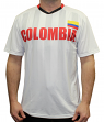 "Team Colombia World Cup Soccer Federation Premium ""Jersey"" T-Shirt"