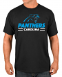 "Carolina Panthers Majestic NFL ""Come Out Fighting"" Men's Short Sleeve T-Shirt"