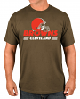 "Cleveland Browns Majestic NFL ""Come Out Fighting"" Men's Short Sleeve T-Shirt"