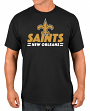 """New Orleans Saints Majestic NFL """"Come Out Fighting"""" Men's Short Sleeve T-Shirt"""