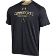 "Vanderbilt Commodores Under Armour NCAA ""Charged Up"" Men's Tri-Blend S/S Shirt"