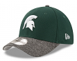 "Michigan State Spartans New Era 39THIRTY ""Team Shaded"" Performance Flex Fit Hat"